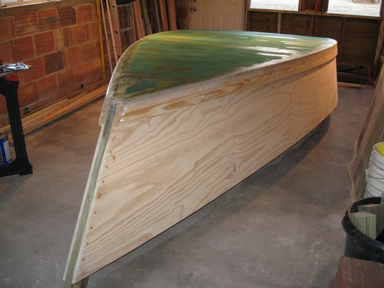 Painting the Skiff | PlywoodSkiff.org