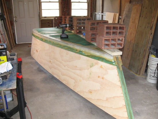 keel install - bow
