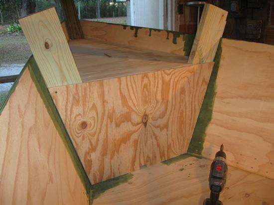 bow enclose temp installed
