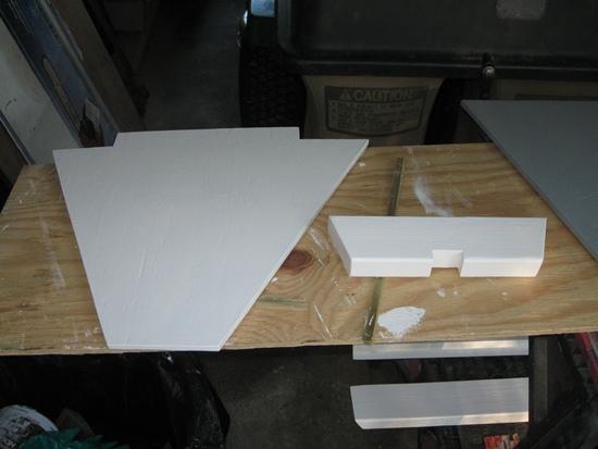 panels primed - 2nd coat
