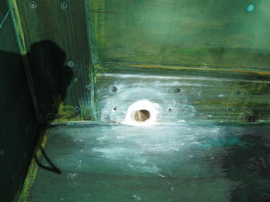 drain tube - inside