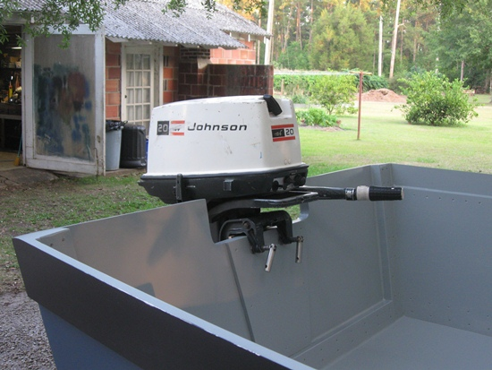 Outboard mounted